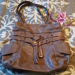 💖SALE💖B Makowsky leather shoulder bag